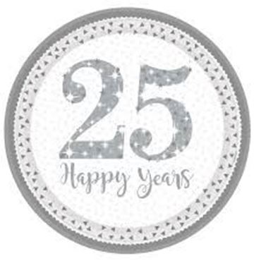 Picture for category 25th Anniversary Partyware