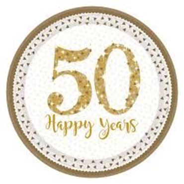 Picture for category 50th Anniversary Partyware