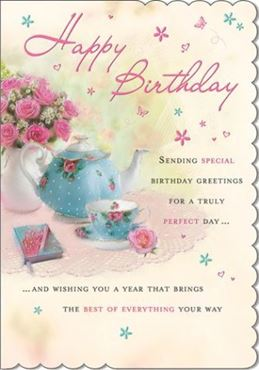 Picture for category Female Open Birthday Cards