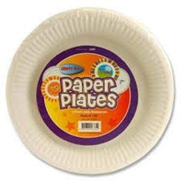 Picture of PAPER PLATE 15CM WHITE SINGLE