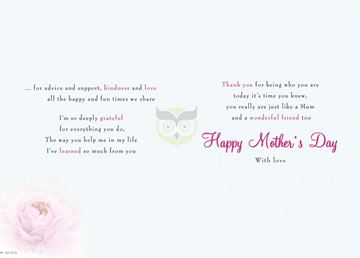 Picture of JUST LIKE A MUM MOTHERS DAY CARD
