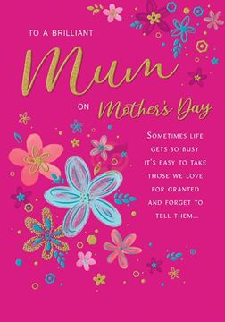 Picture of BRILLIANT MUM ON MOTHERS DAY CARD