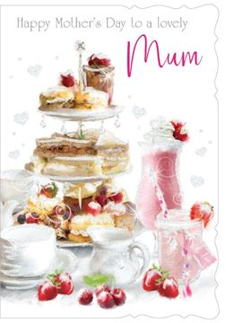 Picture of LOVELY MUM MOTHERS DAY CARD