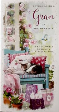 Picture of LOVLEY WISHES GRAN ON MOTHERS DAY CARD