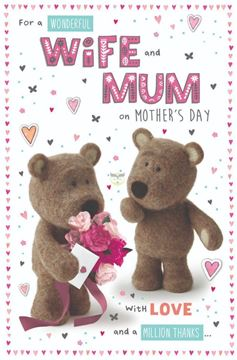 Picture of WONDERFUL WIFE MOTHERS DAY CARD